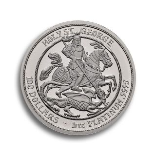 1 oz Noble Isle of Man Platinmünze