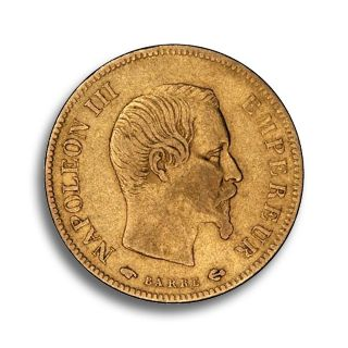 10 Francs Goldmünze Napoleon