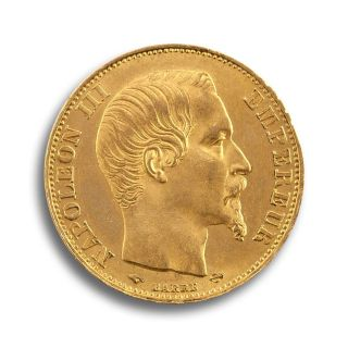 20 Francs Goldmünze Napoleon
